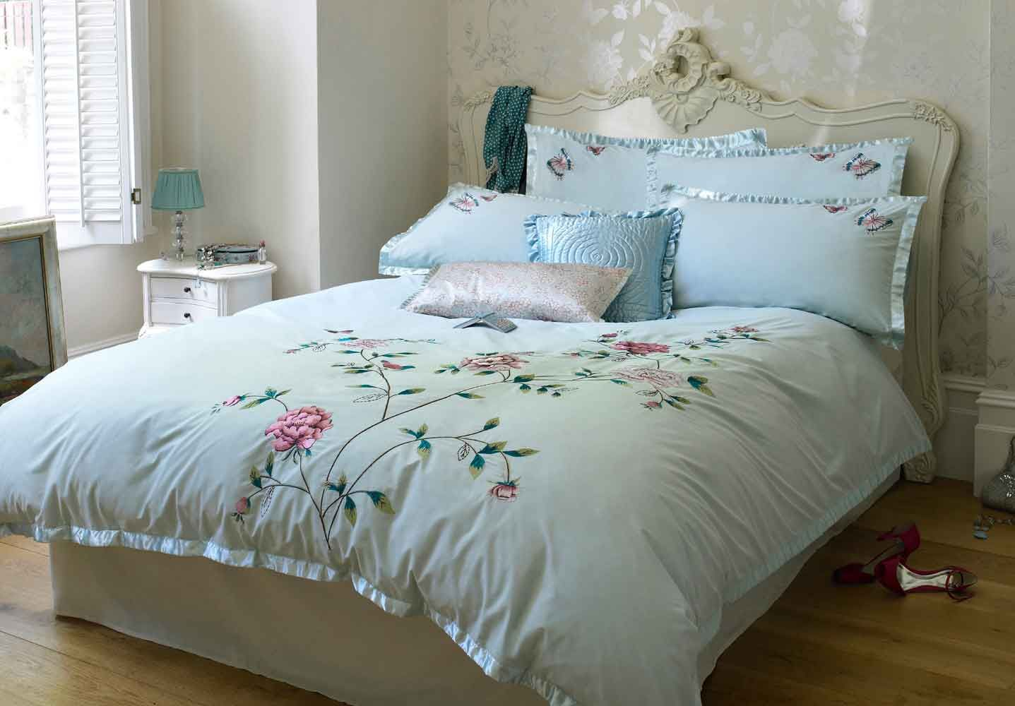 bedding with hummingbirds stunning oriental embroidered
