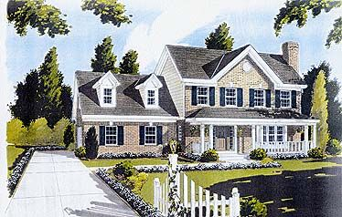 House Plan 92690 | Country   Farmhouse   Plan with 1698 Sq. Ft., 3 Bedrooms, 3 Bathrooms, 2 Car Garage