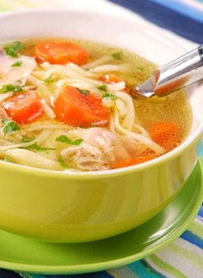 Warm up your family this fall, while letting your slow cooker do all the work! Click here to learn more about this slow cooker chicken noodle soup.