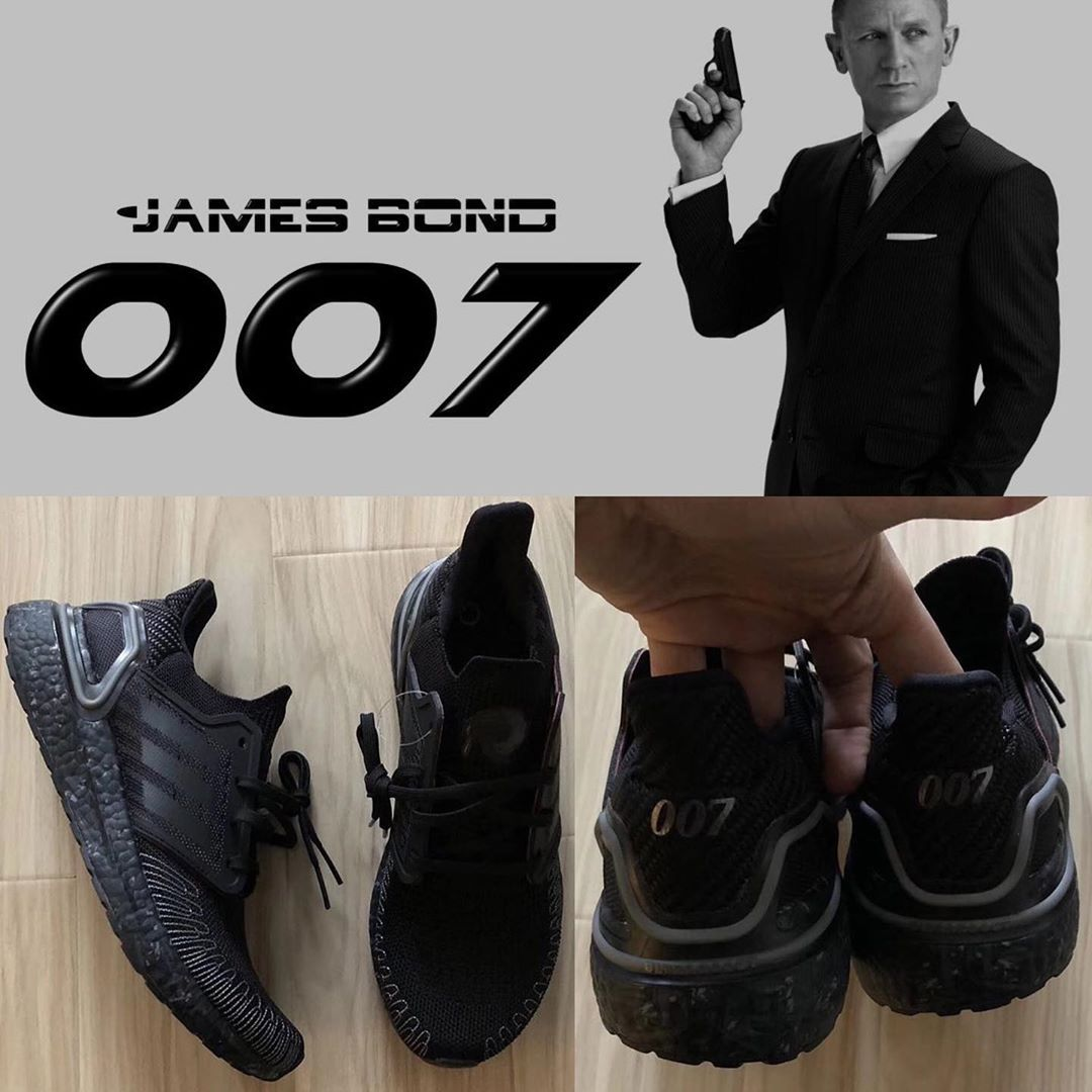 Subrayar Cortar Sanción  JustFreshKicks sur Instagram : FIRST LOOK: James Bond x adidas Ultra Boost  2020 releasing next year, sometime be… | All black sneakers, Adidas ultra  boost, Sneakers