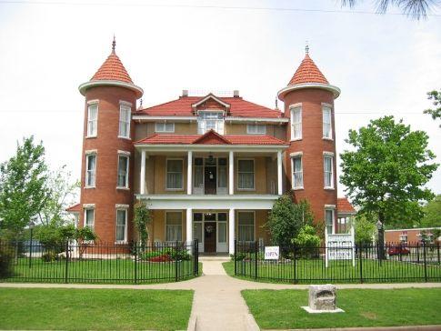 The Belvidere Mansion Tea Room Oklahoma Bucket List For