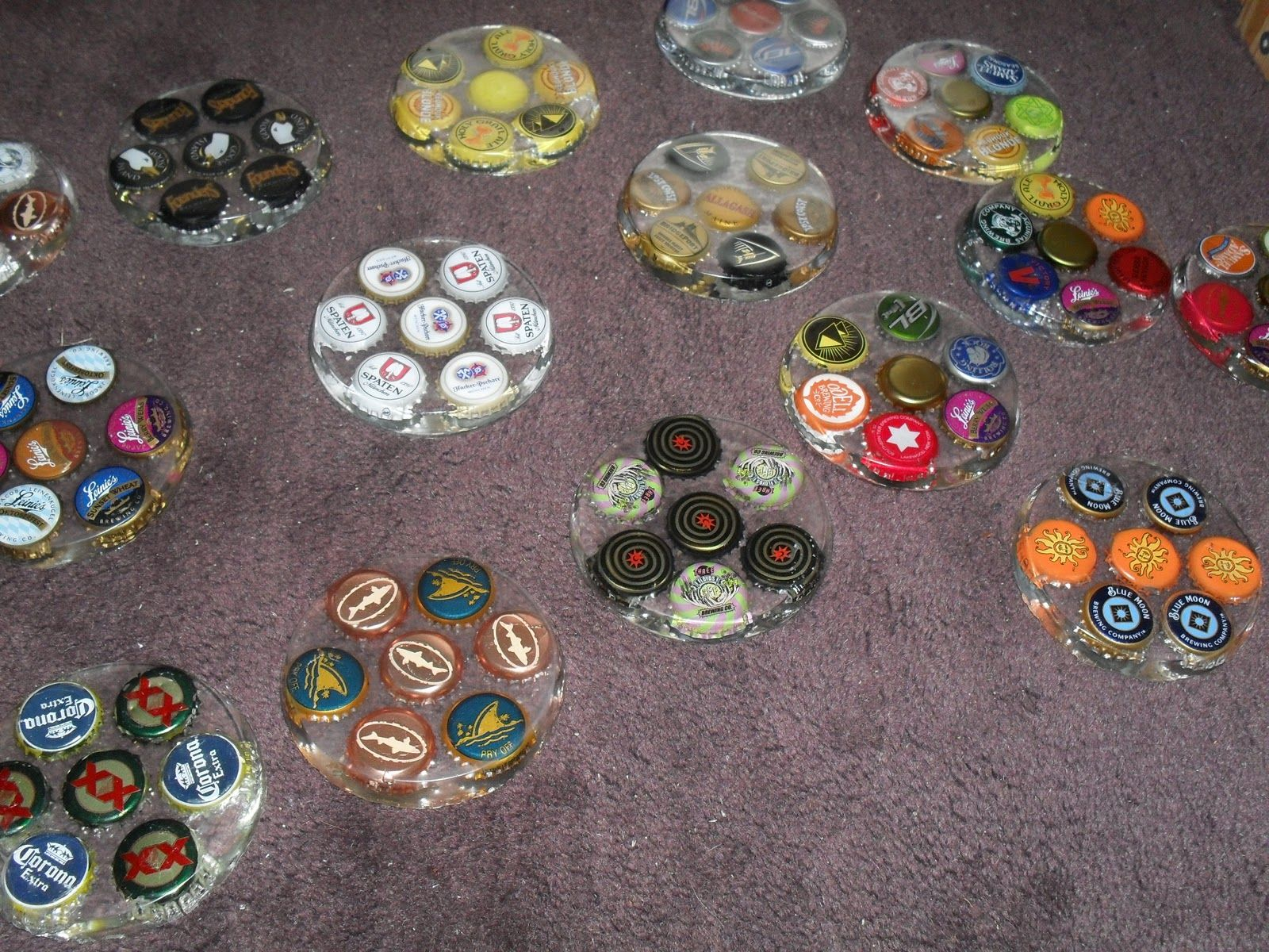 bottle cap craft ideas theatre projects coasters for glassware 3463