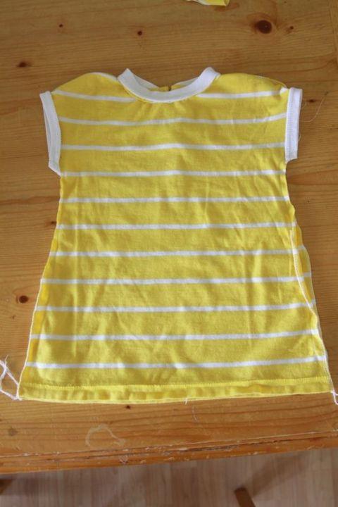 Sew: Baby dress from women'sshirt - It's Always Autumn