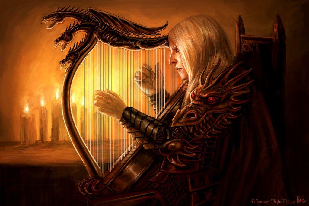 Rhaegar S Harp By Feliciacano On Deviantart Rhaegar Targaryen
