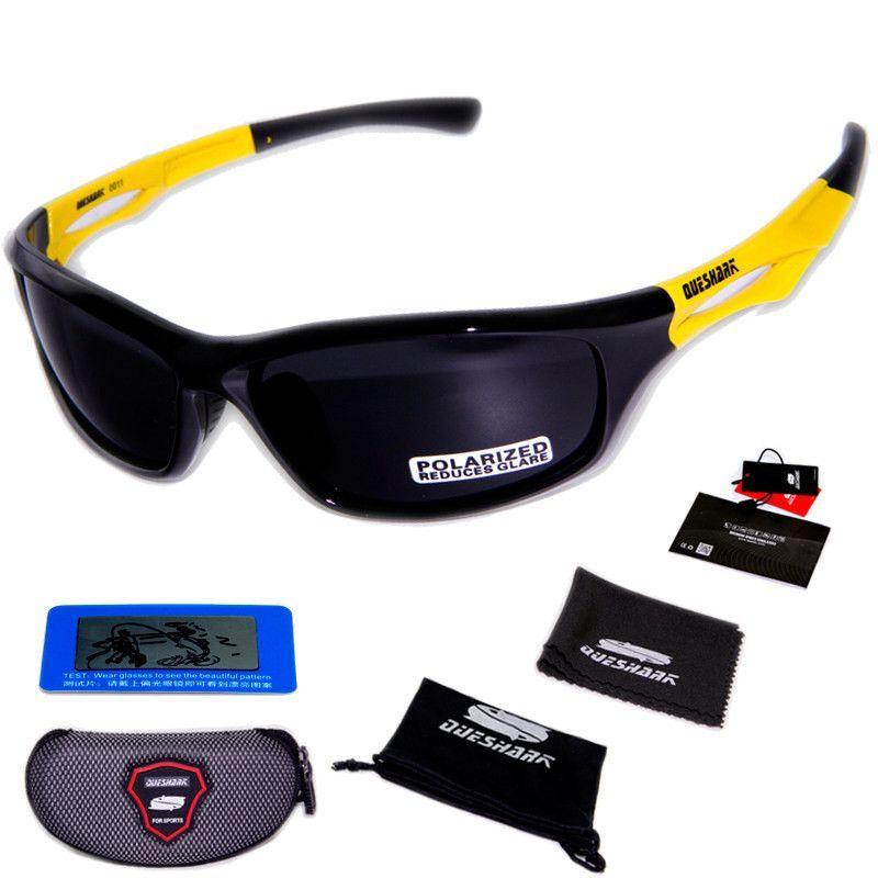 65fcfb8c3e9 Queshark Men Women Polarized Cycling Sunglasses TR90 UV400 HD Lens Goggles  Tour De France Bicycle Bike Glasses Sports Eyewear