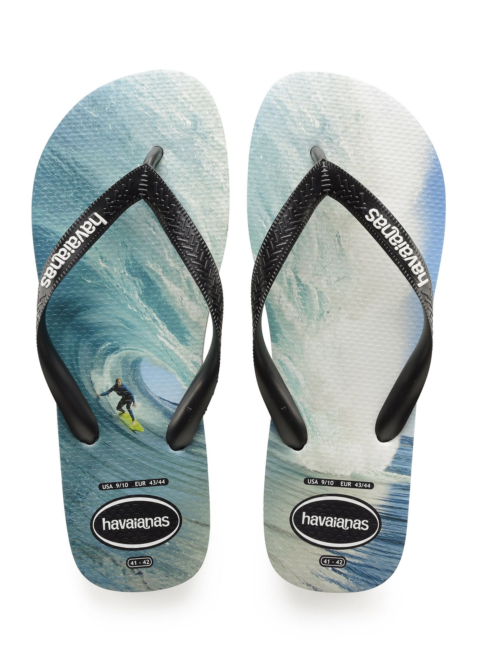 0b2a68c77 Havaianas Top Photoprint Sandal Black Black Blue Price From  £17.88