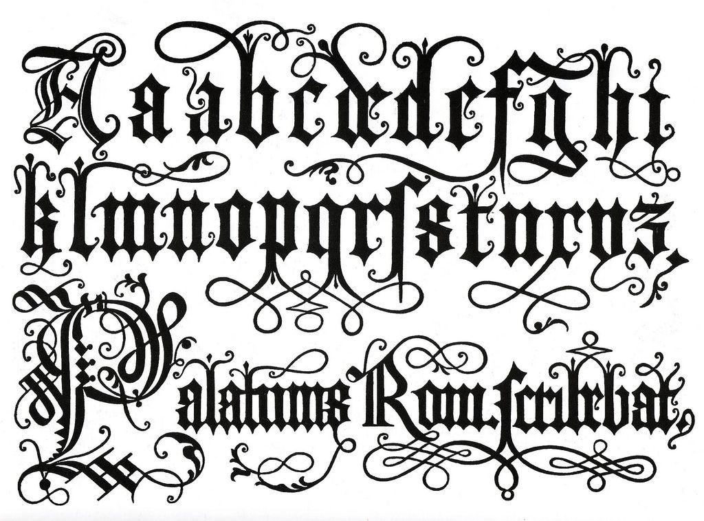 Tipos De Letras Abecedario Elegantes