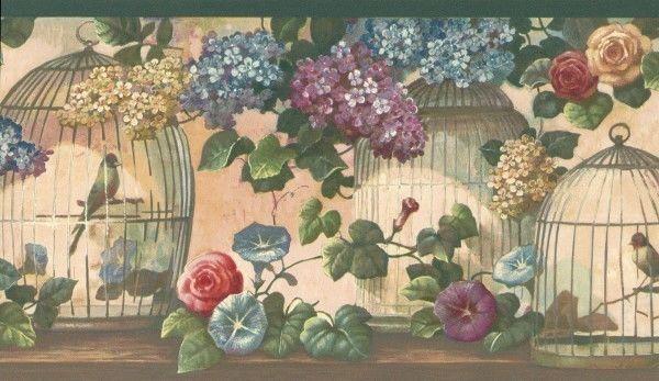 Victorian bird Victorian Floral Birds & Birdcages