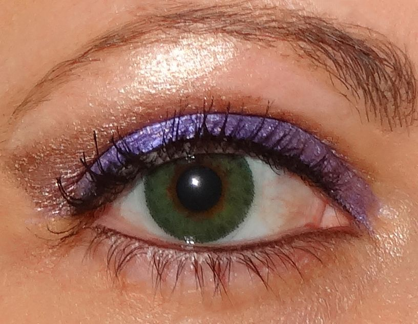 Makeup Kitty Reviews Maybelline Eye Studio Color Tattoo Eyeshadow In Painted Purple Bad To The Bron Maybelline Eye Studio Color Tattoo Eyeshadow Color Tattoo