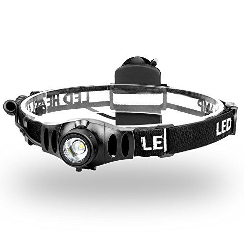 Focusing Headlamp 350 Lumens Byblight Led Headlamp Whit Dimmer Control Ip65 Waterresistant 12 Hours Powerfu Camping Lights Led Headlamp Aaa Batteries