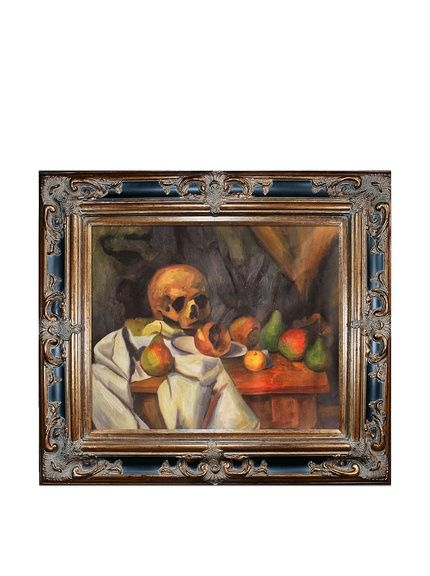 Paul Cézanne Nature Morte au Crâne, http://www.myhabit.com/redirect ...
