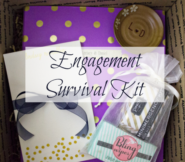 Get This Great Engagement Survial Kit With A Custom And Realistic Wedding Binder Included