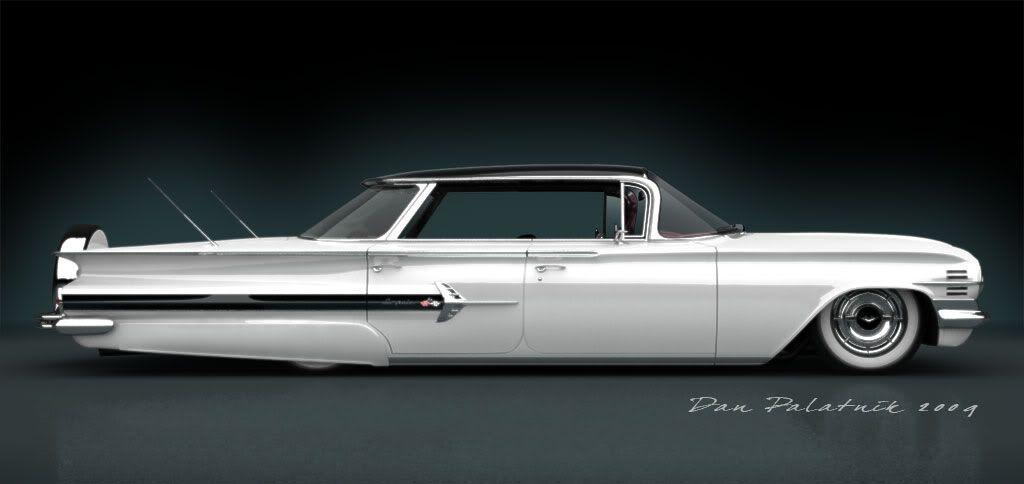 1960 Chevrolet Impala With Spare Display Chevrolet Impala