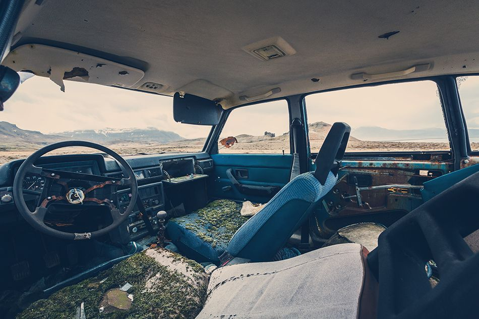 Franz Subbauer abandoned car and dead sheeps [:] on Behance