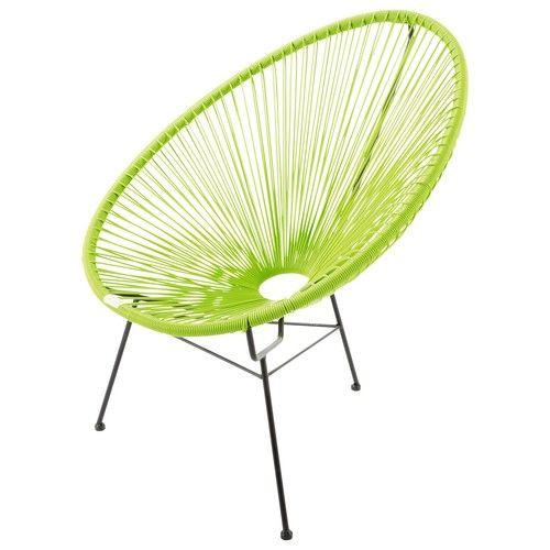 Fauteuil de jardin rond vert | Pinterest | Fauteuils de jardin ...