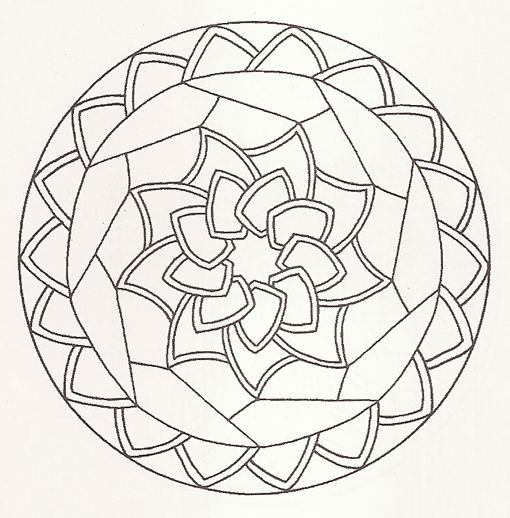 Mandalas para colorear   Mandalas y color terapia   Pinterest ...