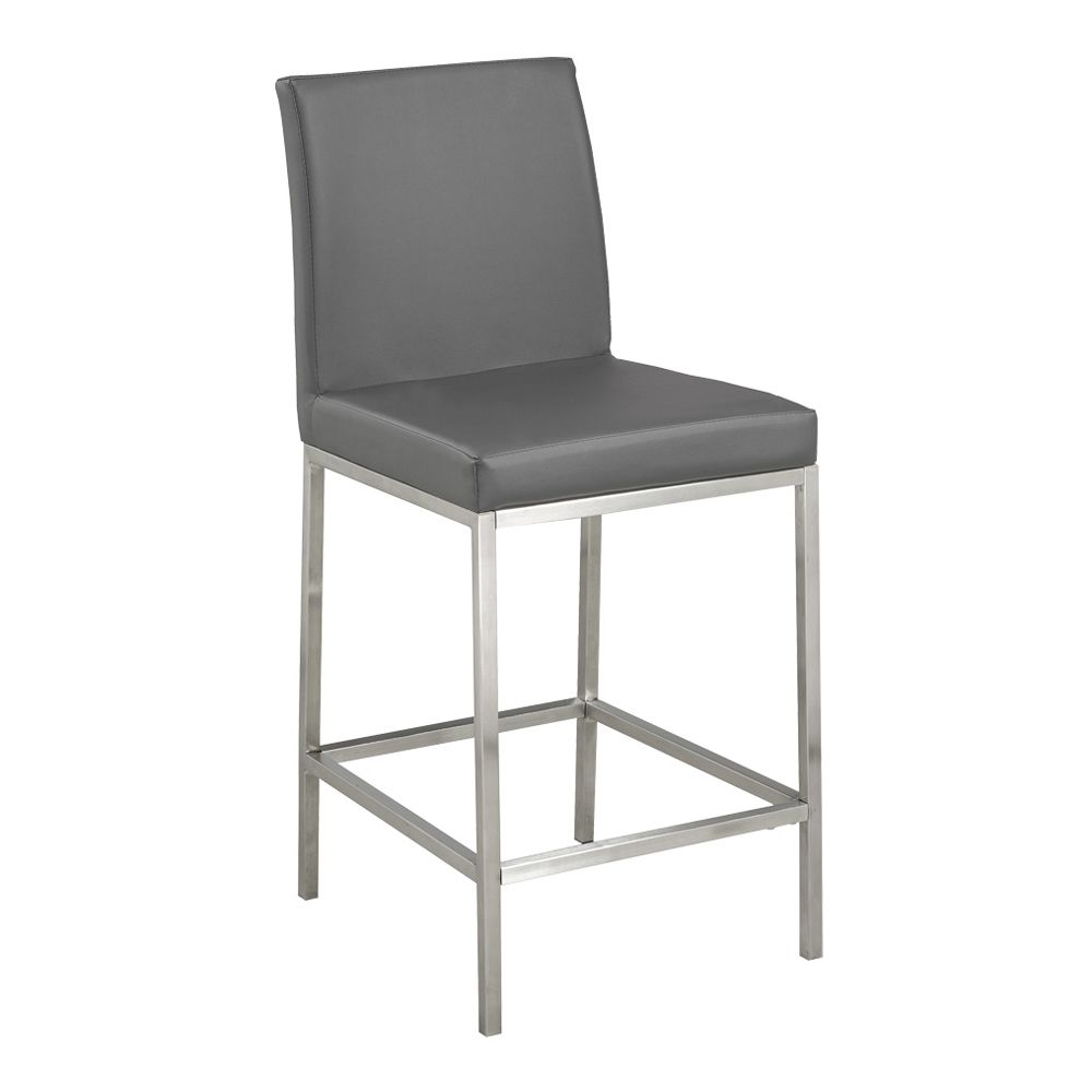 Shop home gear hermes faux leather counter stool at loweus canada