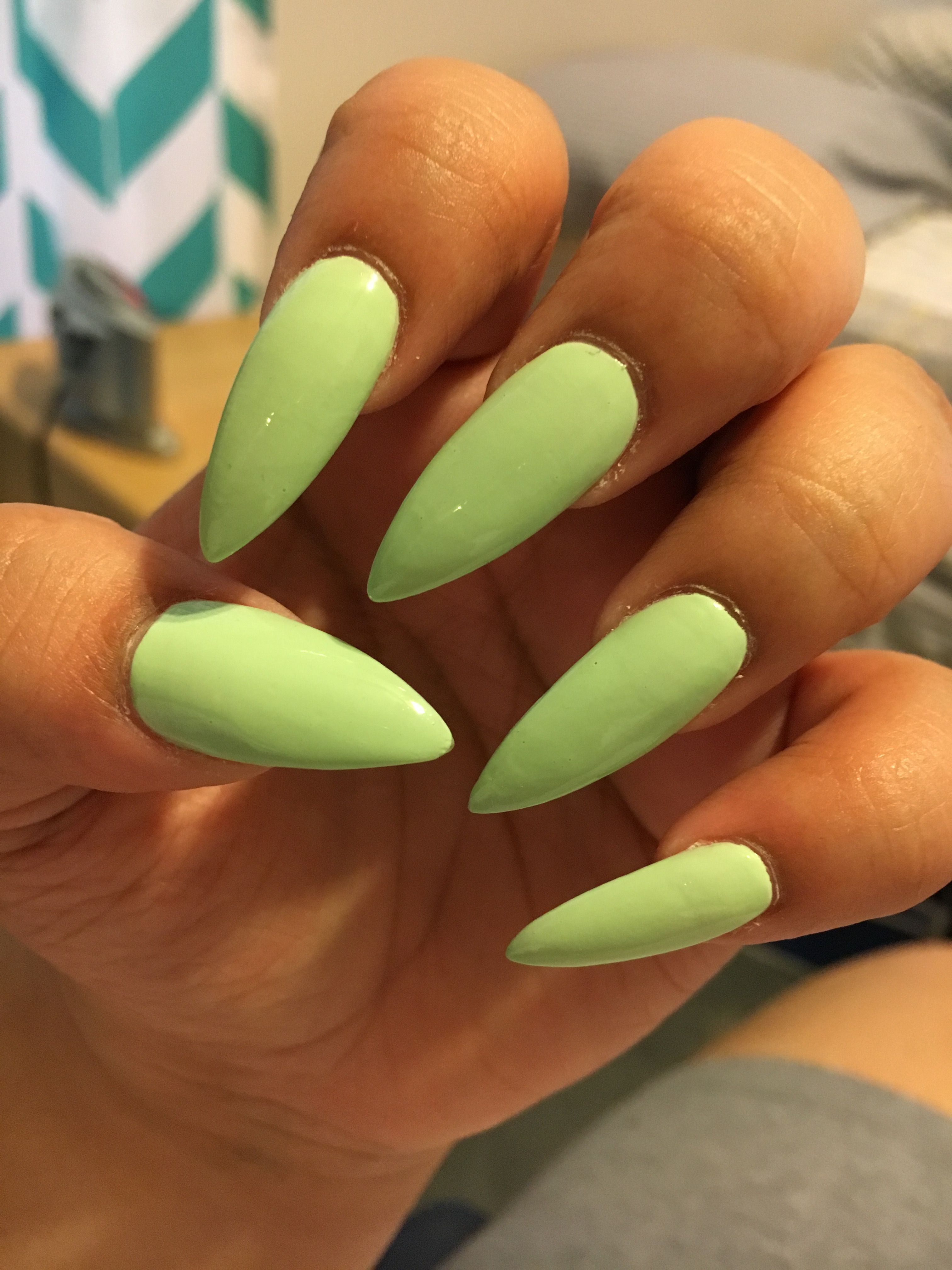 Loving this color  Sexy Nails, Nails On Fleek, Stiletto Nails, Salon Nails