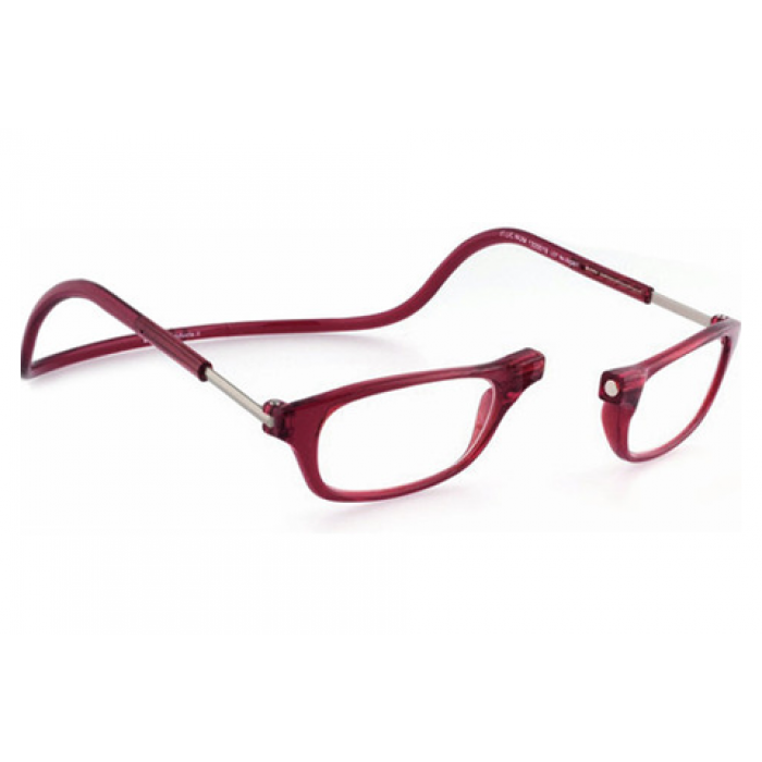 24cdbd4721 Clic Readers Original Bordeaux +3.00 Rx Sunglasses