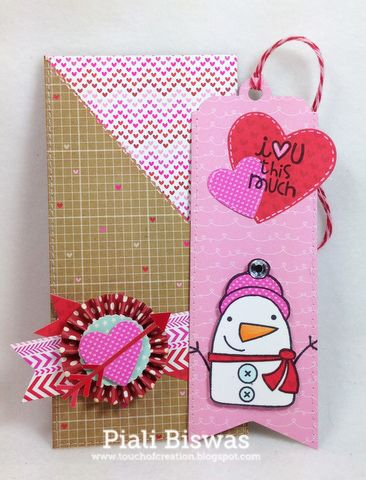 Paper Smooches: Our MARCH guest designer is...Piali Biswis