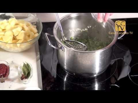 Patatas a la riojana - YouTube