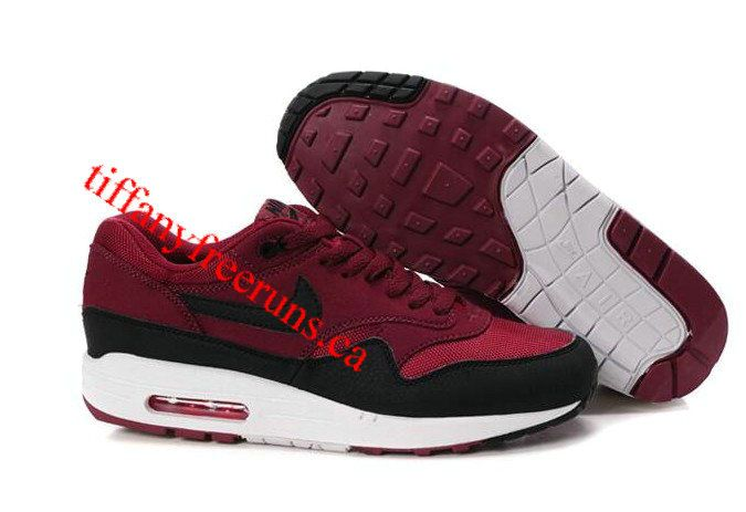 Mens Nike Air Max 1 Gym Red Sail Rave Pink Anthracite Shoes