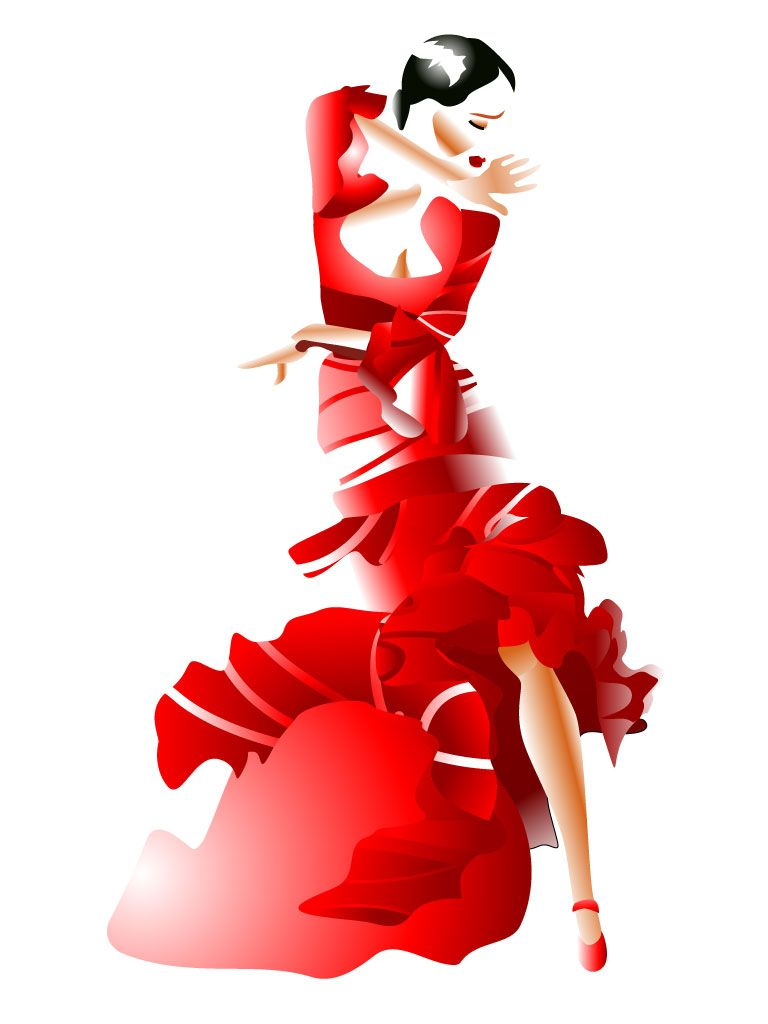 flamenco  Svetlanas Fashion Illustrations  Pinterest  Flamenco