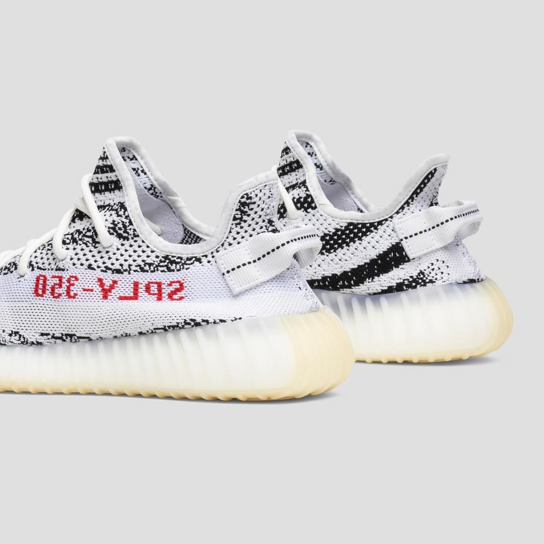 new concept 2fc88 a6c77 adidas Originals YEEZY BOOST 350 V2 White/Core Black/Red ...