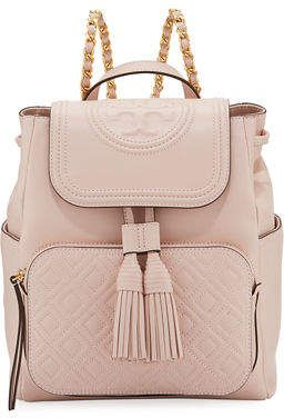 77e9bf7eb97 Tory Burch Fleming Leather Backpack
