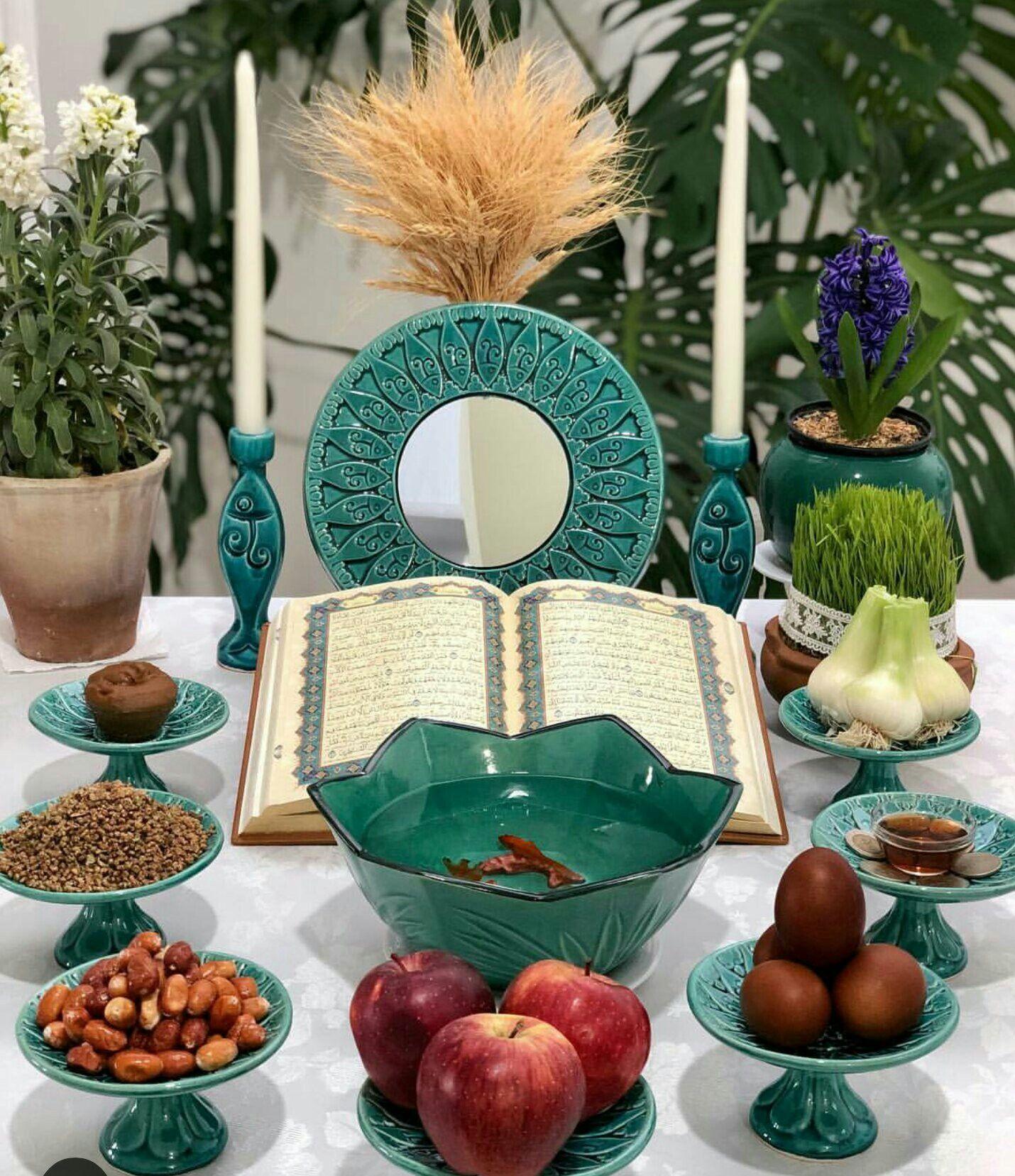 Happy new year to every one celebrating norouz around the