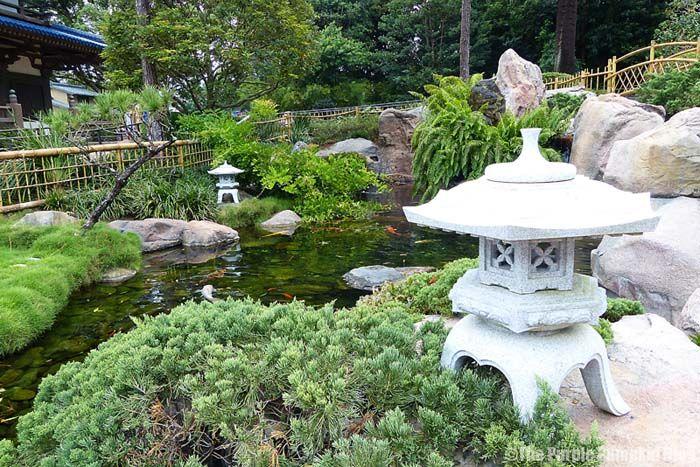 Japan Pavilion gardens