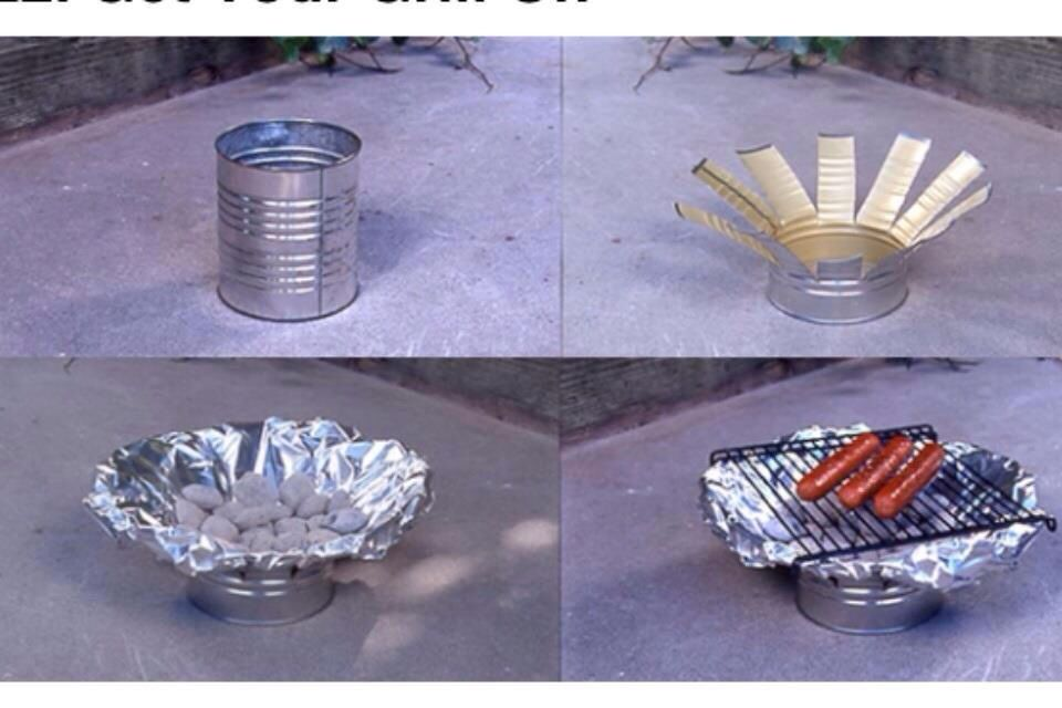 How to make a simple #BBQ #DIY