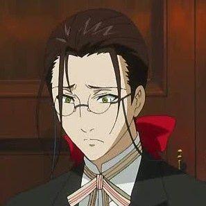 Black Butler Grell As A Butler