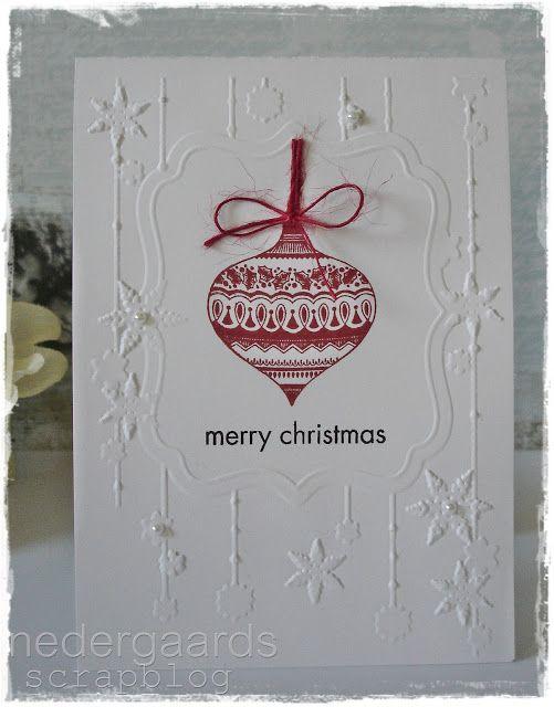 Merry Christmas Greetings Card Handmade
