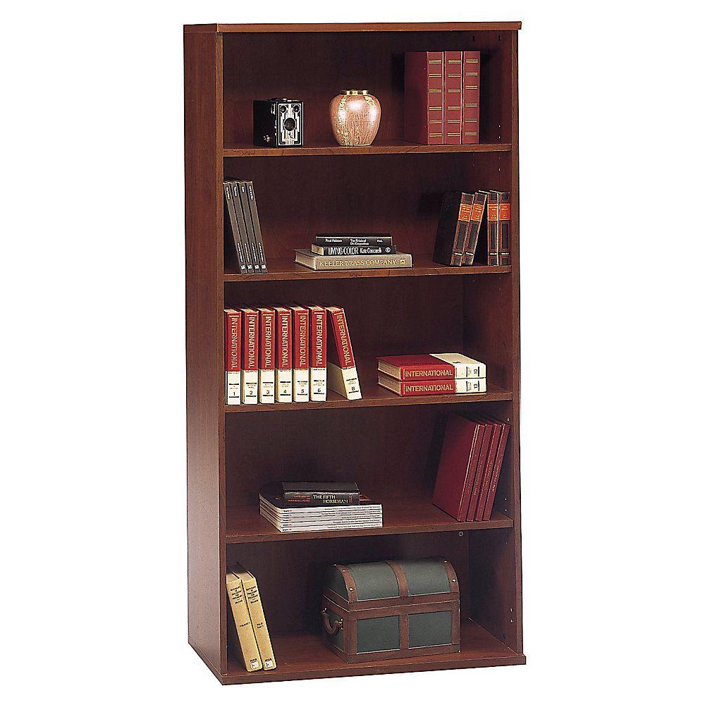 Bush Business Furniture Components 5 Shelf Bookcase 36 W Hansen