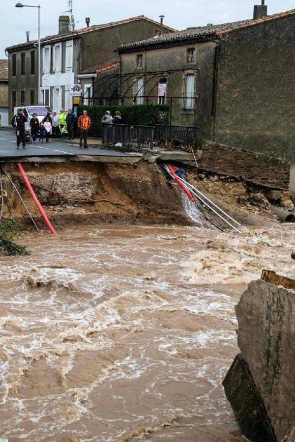Inondations dans l'Aude, le bilan s'élève à 13 morts en