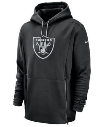 92c31f62141d Nike Men s Oakland Raiders Sideline Player Therma Hoodie - Black XL ...