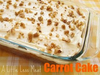 Moist and delicious carrot cake!
