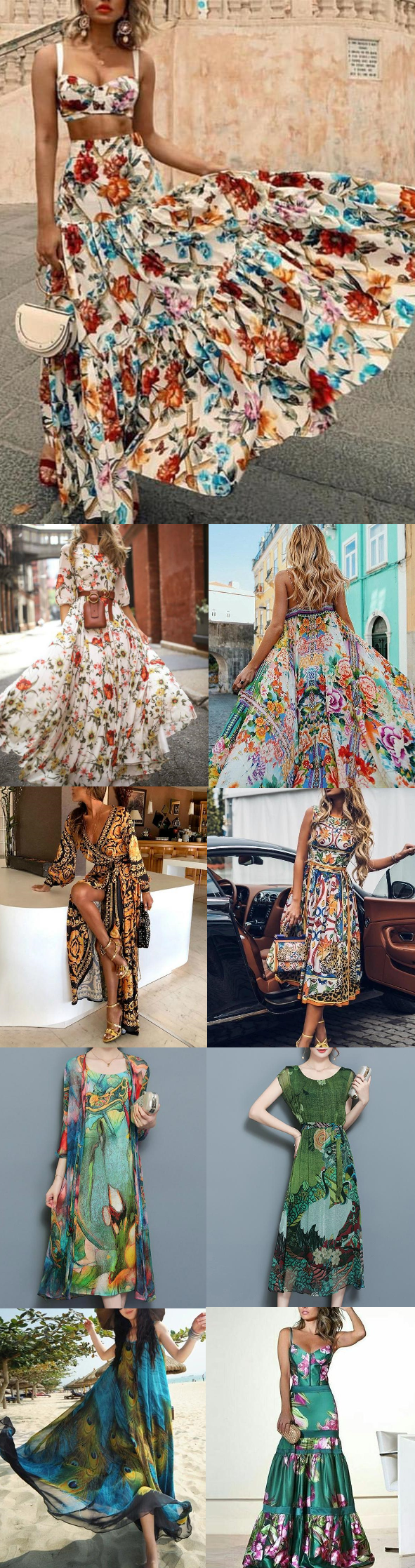 🛒shop now>>50+ popular floral maxi dresses for you.buy 2