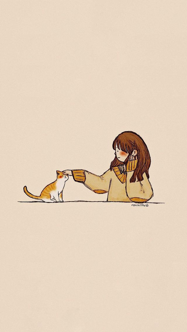 Pin Oleh Rana Hesham Di Animais Ilustrasi Karakter Seni Kucing