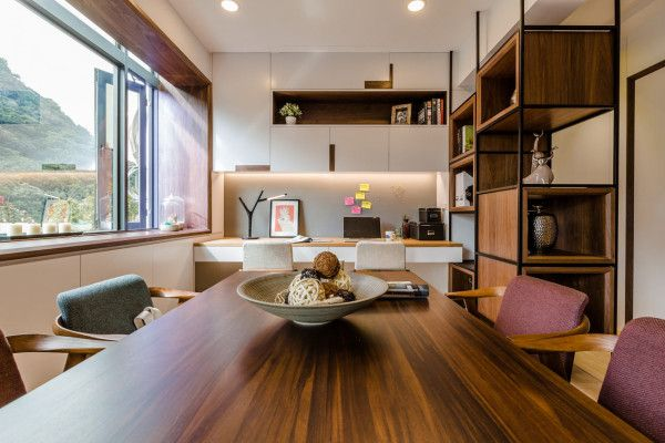 A 40 Year Old Apartment In Taipei Gets A Modern Intervention Interior Design Dining Luxury Apartments Interior Old Apartments