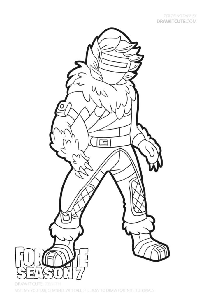 Pin By John Wheeler On Fortnite Coloring Pages Fortnite Art