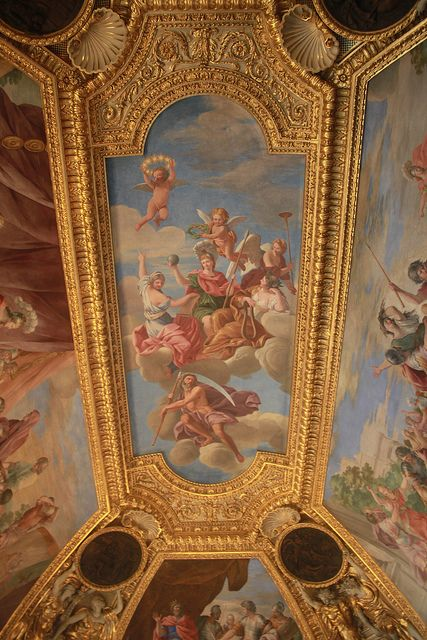 The Louvre - Paris, France, one a palace for kings & queens of France, even Napolian for a time.  You walk through amazing rooms & galleries