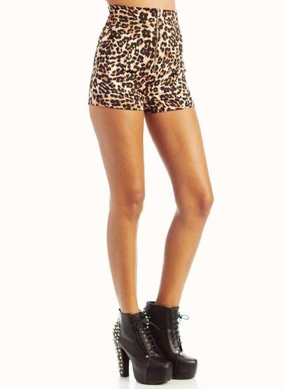398beff73582 leopard print shorts | All ApParel T&T Products | Leopard print ...