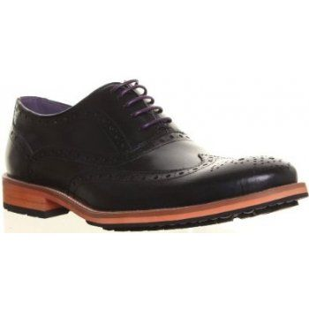 119ec94e8243f7 Justin Reece best-selling classic 5 eyelet Oxford brogue returns with an  updated purple lining