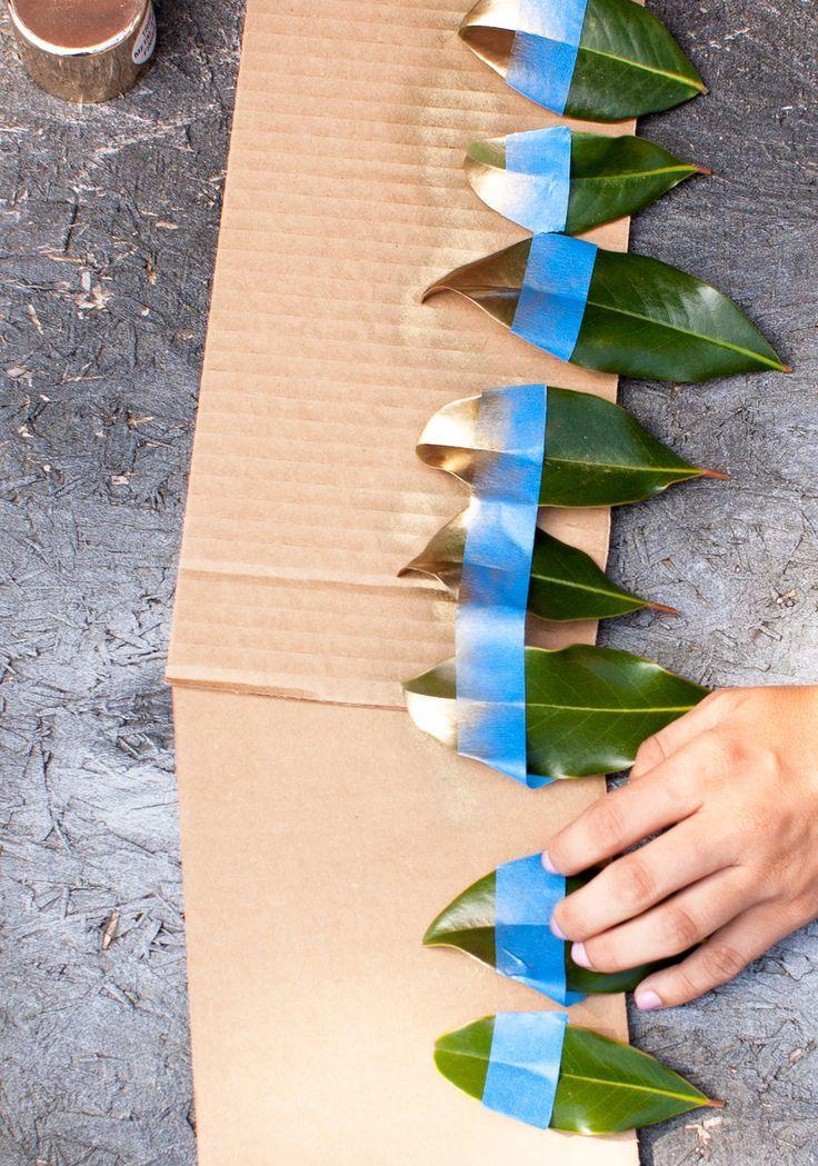 Magnolia Leaf Place Cards with Suite One Studio Ceramics