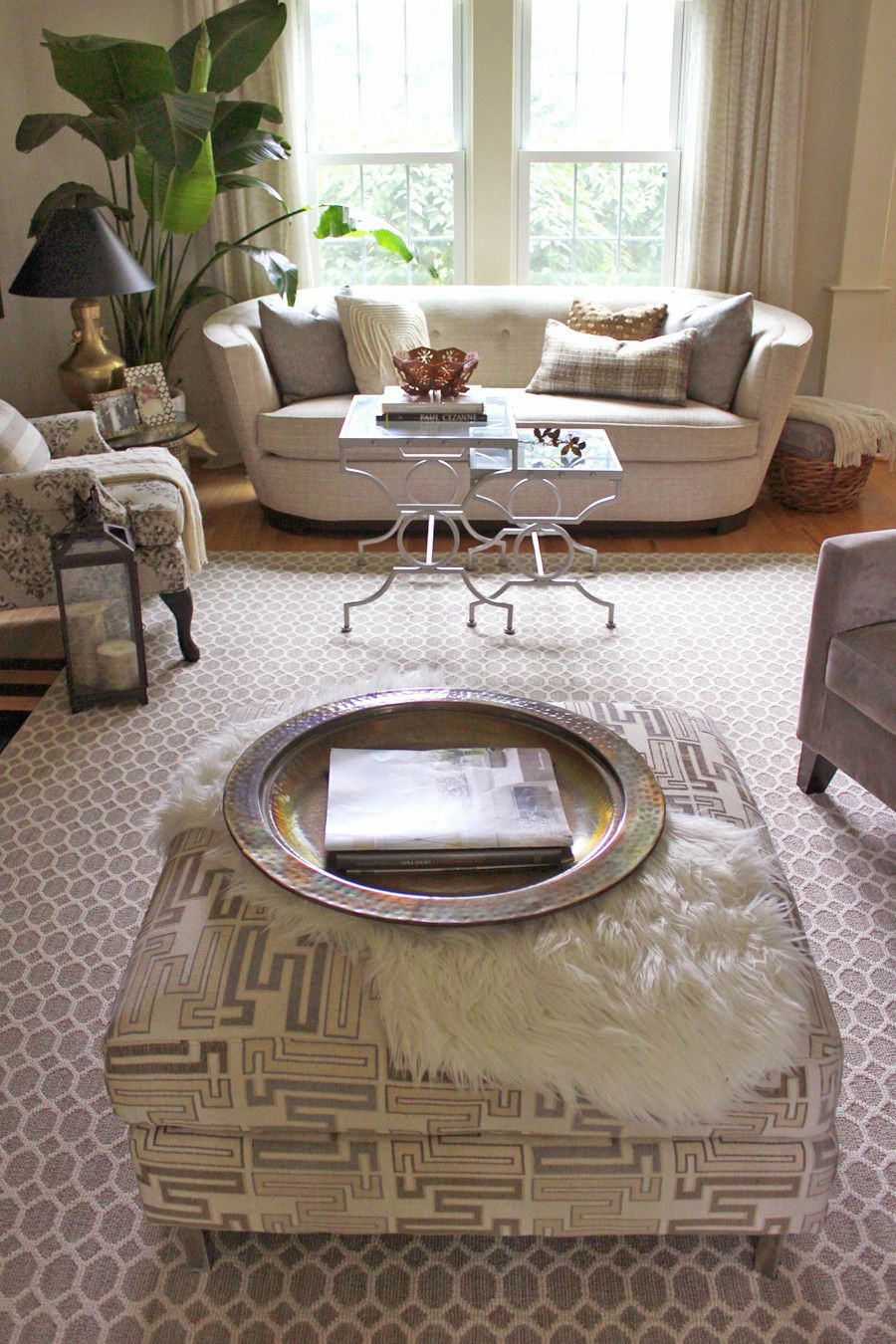 Lee Owens Design Eclectic Traditional Home Neutral Living