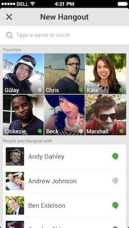 Google Hangouts for iOS can call US & Canada for free