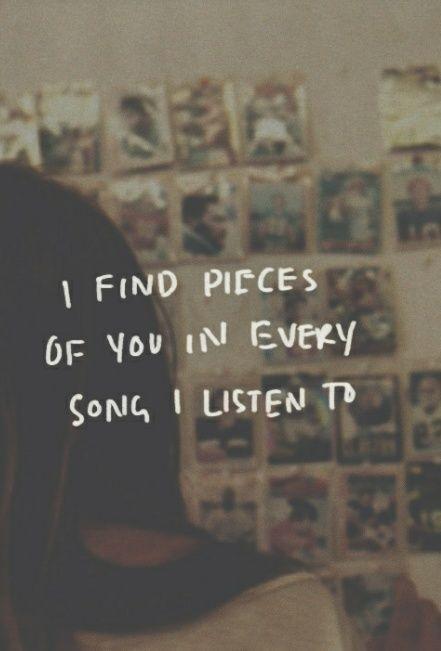 Missing him songs