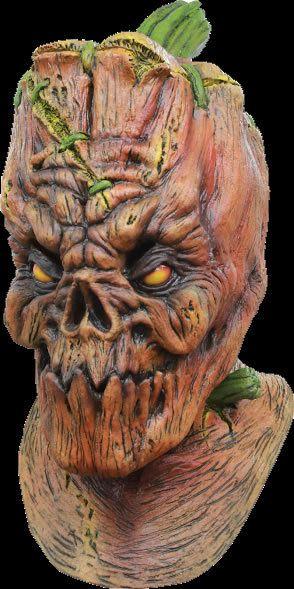 pumpkin head halloween costume mask